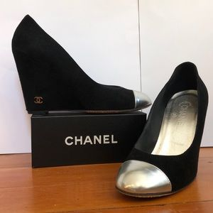 Chanel Suede Wedges | Size 39